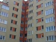 остекление многоквартирного дома по ул. Первомайской 28а в Калининграде