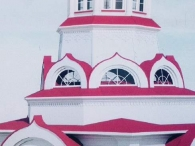 фото остекленной церкви на Аксакова