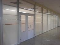 Пластиковые двери в офисе