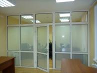 Офисные ПВХ двери