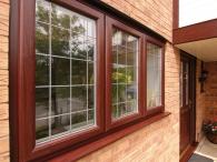 коричневые окна