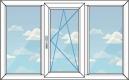 трехстворчатое окно, вариант 1
