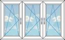трехстворчатое окно, вариант 3