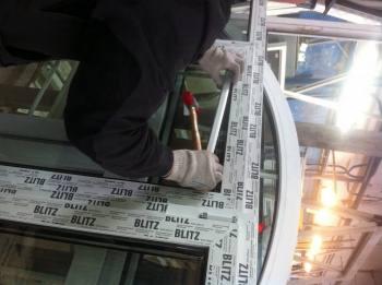 изображение монтажа пластикового окна
